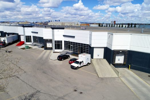 industrial warehouse building for rent