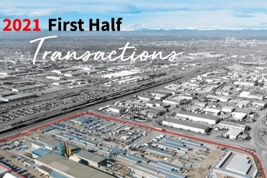 Calgary Industrial 2021 first half transactions