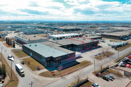 Calgary Industrial warehouse real estate