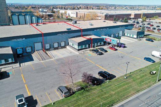 Calgary Industrial Warehouse